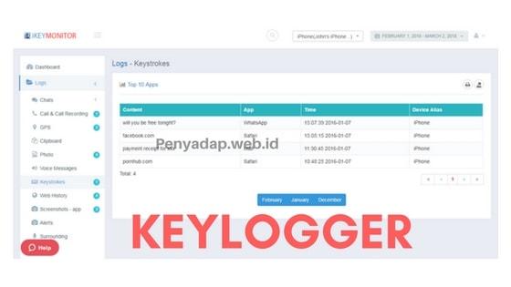 Aplikasi Keylogger untuk iPhone & Android