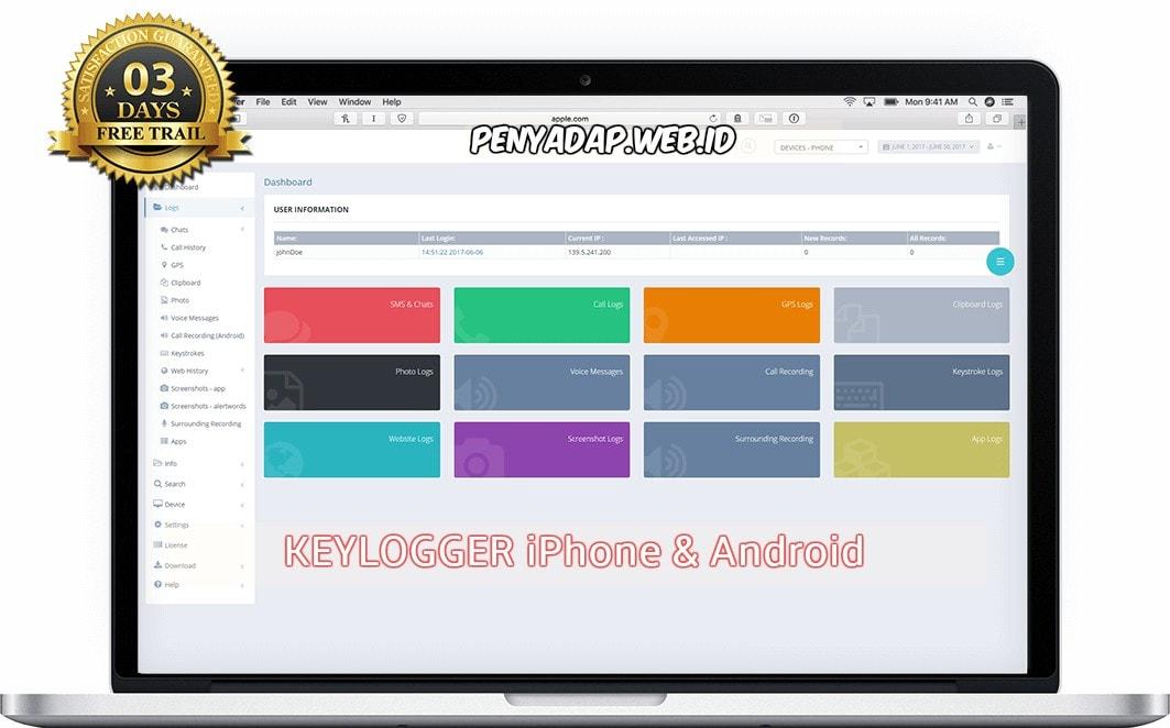 software penyadap hp dengan keylogger - IkeyMonitor