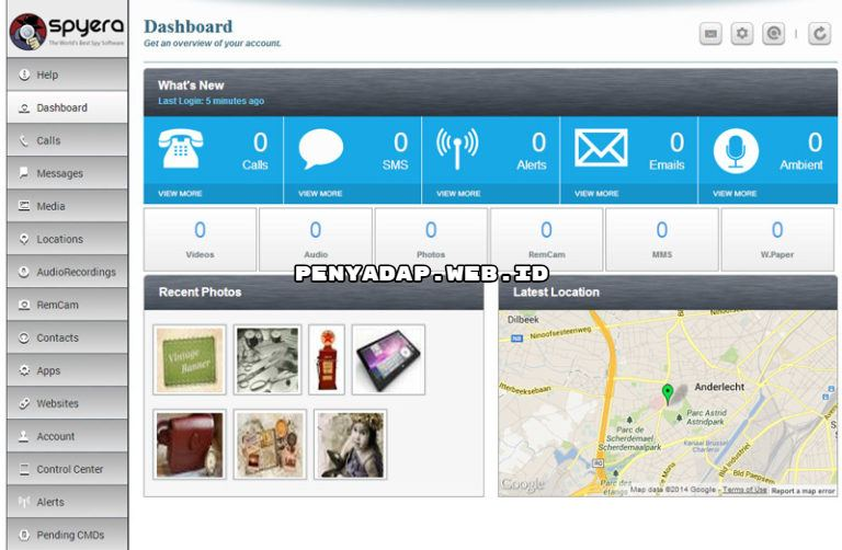 Penyadap Chat WhatsApp & Facebook Dengan Software SpyEra