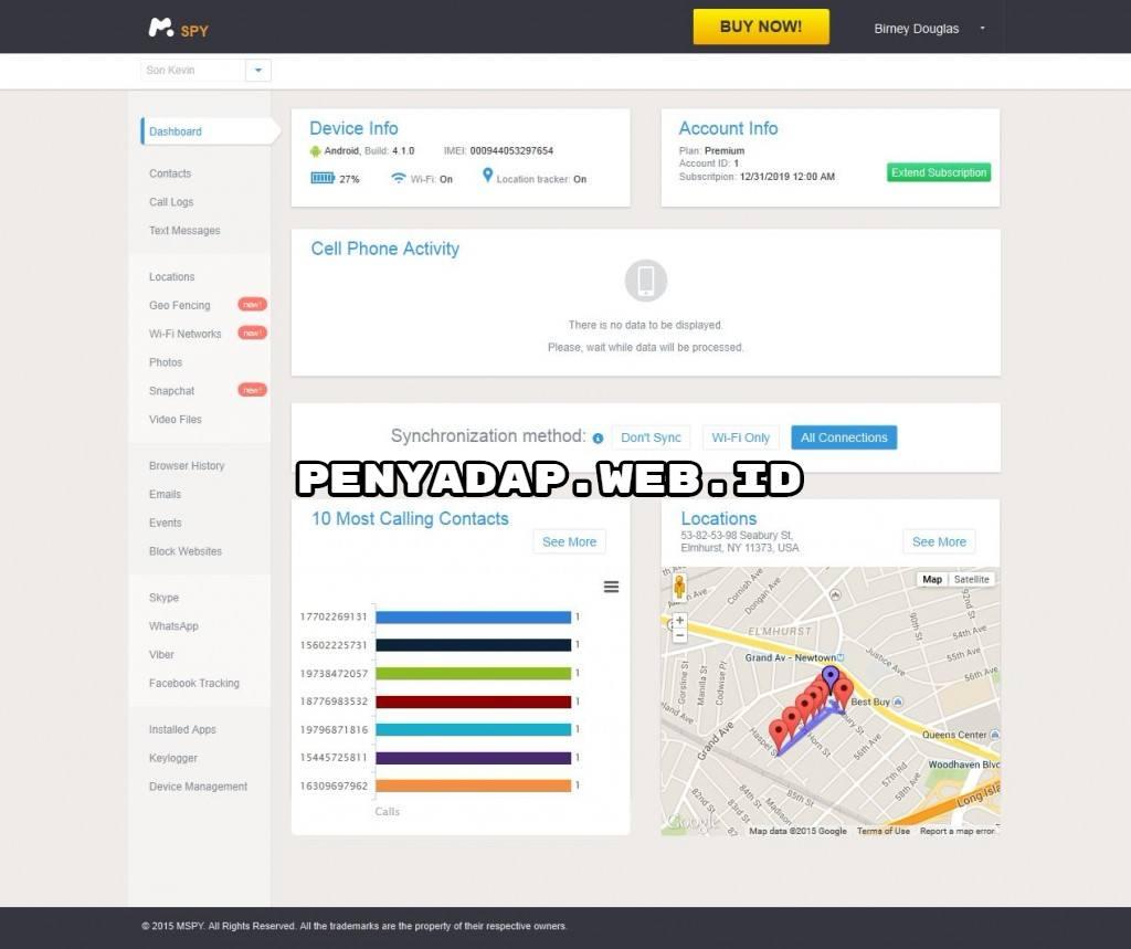 software sadap hp dengan mSpy