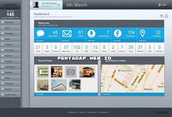 software sadap hp dengan flexispy